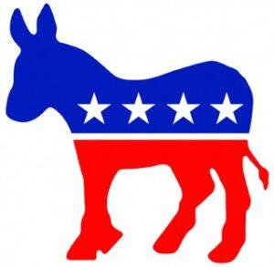 Символом партии является осел