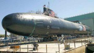"""Атомная подводная лодка ВМС США """"Сивулф"""""""