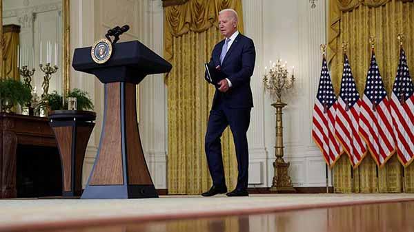 Обращение президента США Джо Байдена по ситуации в Афганистане