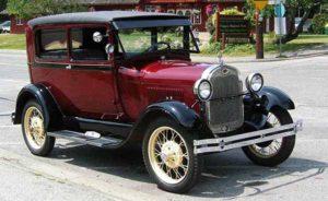 Автомобиль Генри Форда модели Форд-А 1927 года