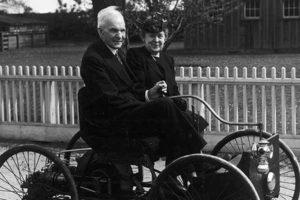 Генри Форд с женой