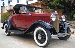 1932 год Ford Model B V8 Roadster