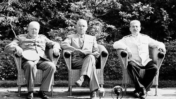 Потсдамская конференция 1945 года