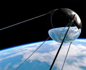 Первый искусственный спутник Земли. 1957 год