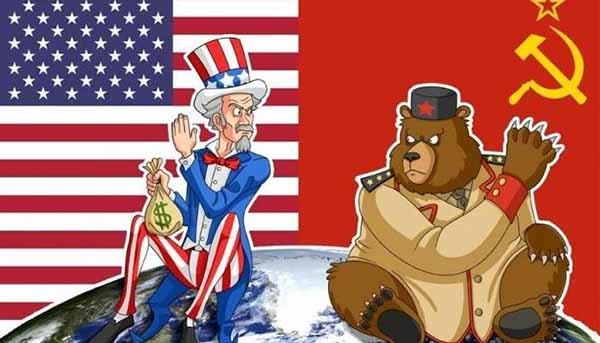 Холодная война — противостояние СССР и США